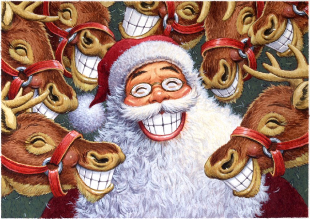 smiling-santa